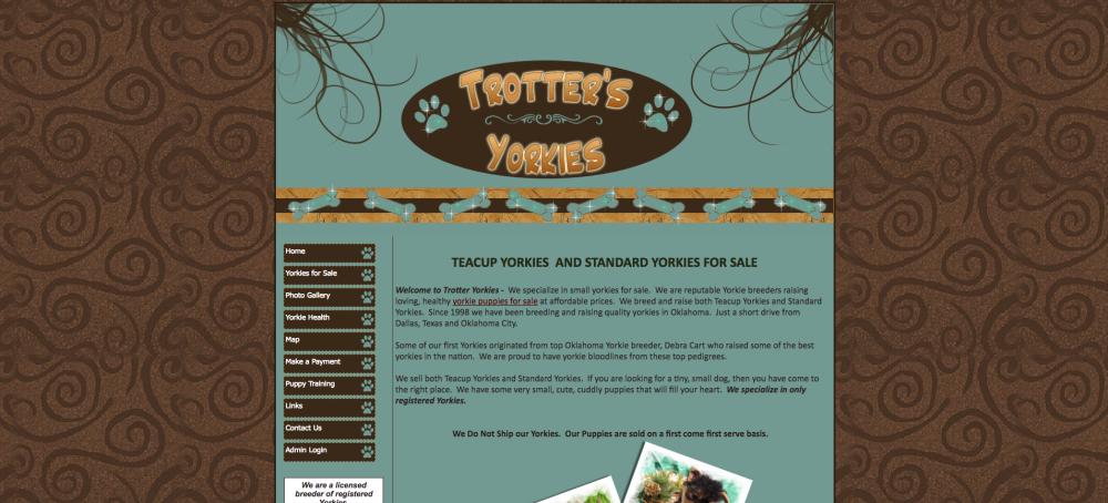 Trotters Yorkies