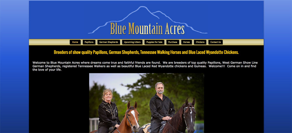 Blue Mountain Acres