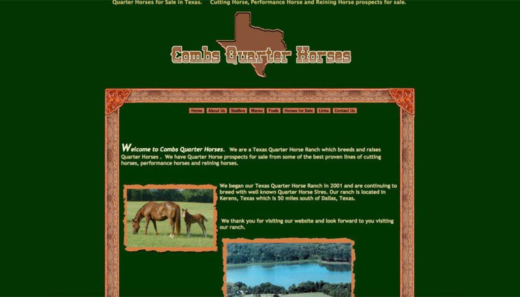 Combs Quarter Horses