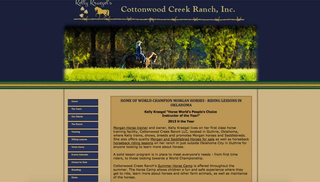 Cottonwood Creek Morgans