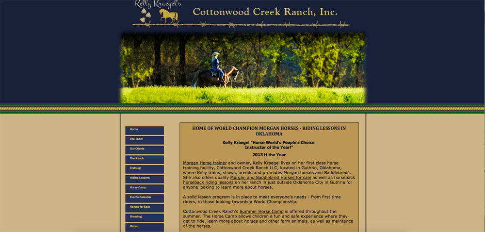 Cottonwood Creek Morgans