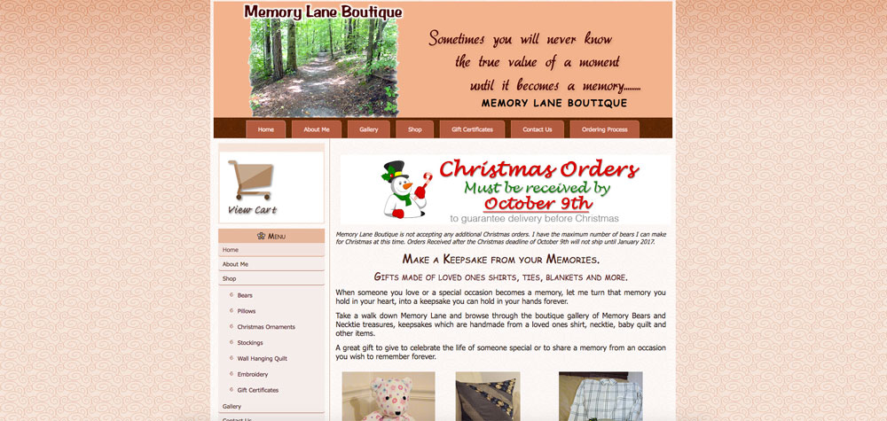 Memory Lane Boutique