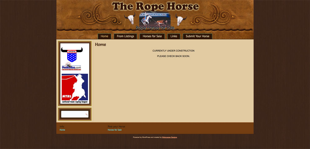 The Rope Horse